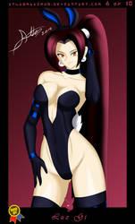 Bunny Girl Card 6 Luz