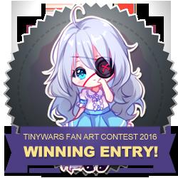 Fan Art Contest 2016 - WINNER BADGE