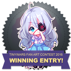 Fan Art Contest 2016 - WINNER BADGE by TinyWars