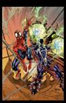 Spawn Spider Man color