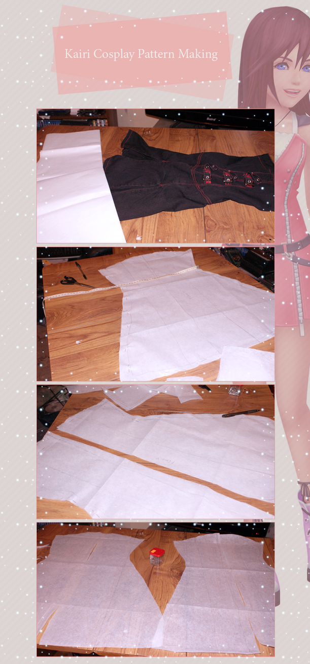 Kairi Cosplay Pattern Making by Urika