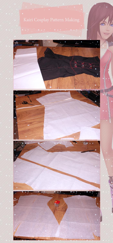 Kairi Cosplay Pattern Making by Urika