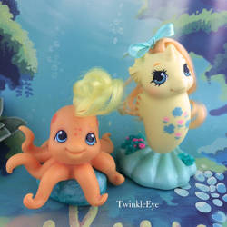 Baby Sea Pony Lucky Leaf + Baby Octopus Leafy