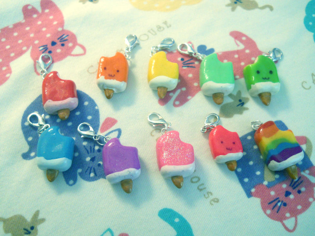Ice cream charms 2 by milacek