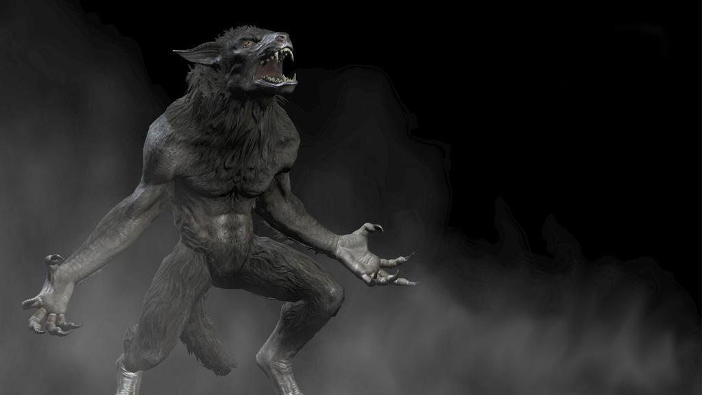 Skyrim werewolf wallpaper hd - photo#6