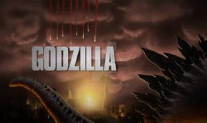 Godzilla 2014 Fan Poster