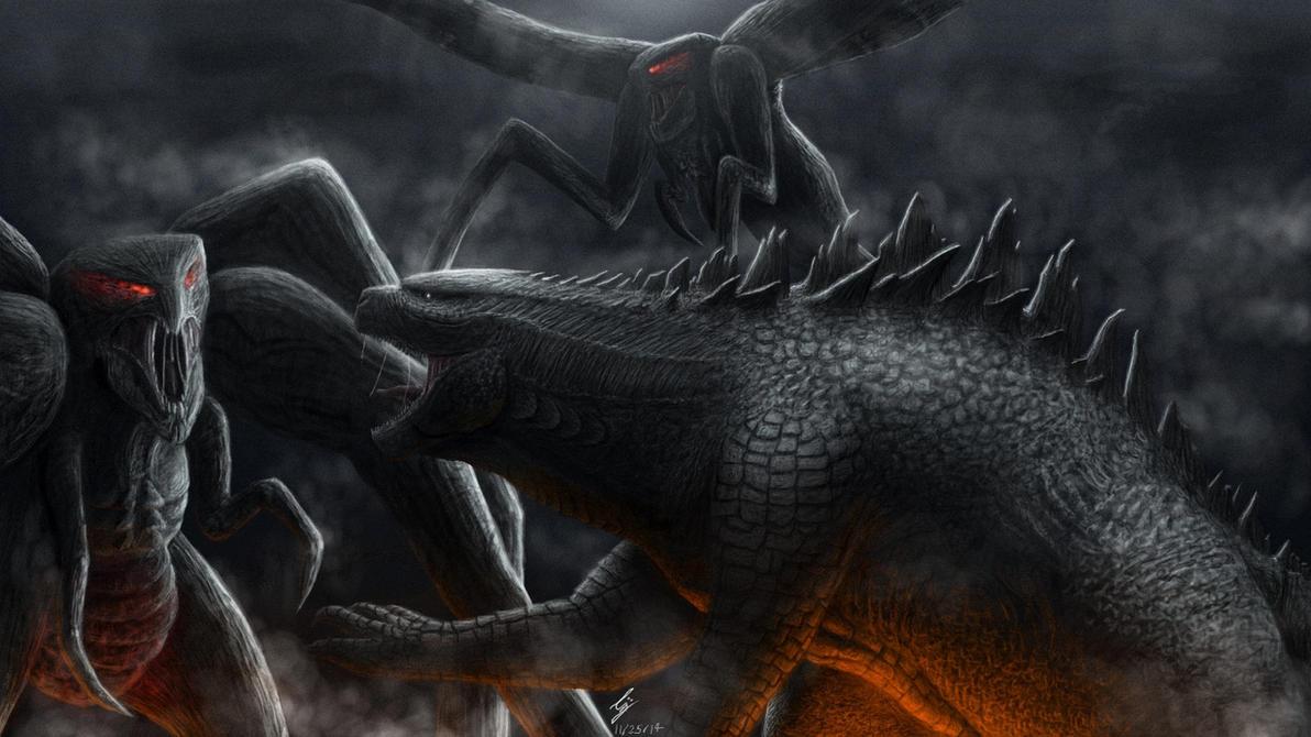 Godzilla 2014 by Demplex