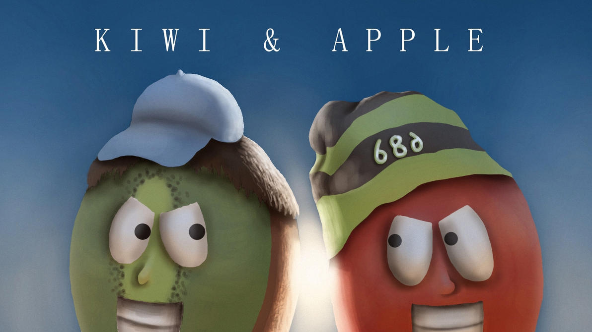 Kiwi and Apple Intro Logo by Demplex