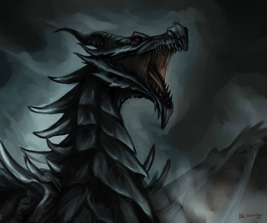 Alduin the World Eater by Serpentwined