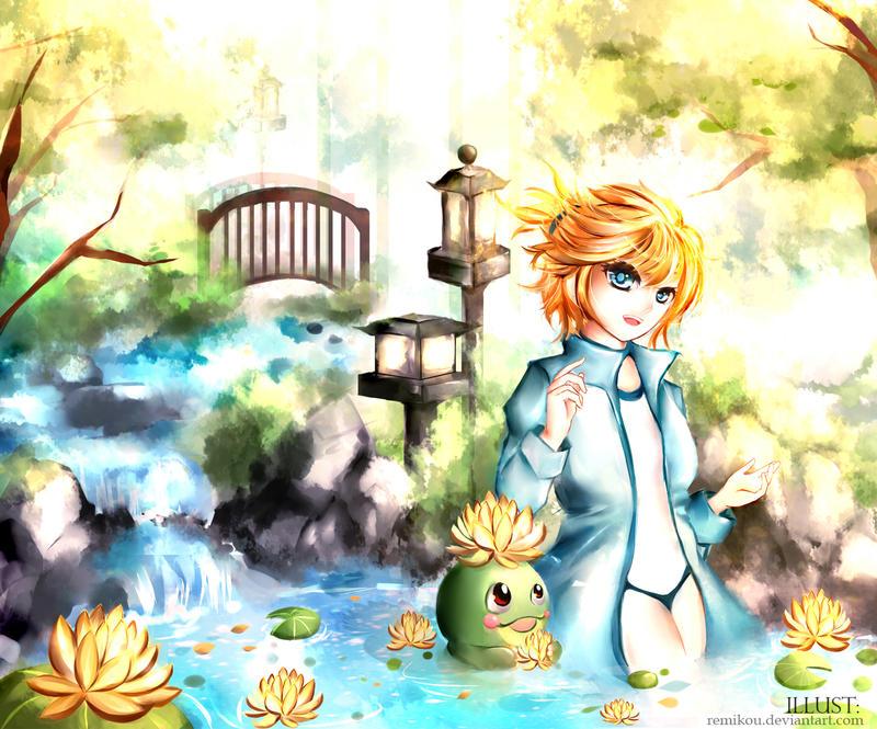 Pokemon: Misty by Byakurin