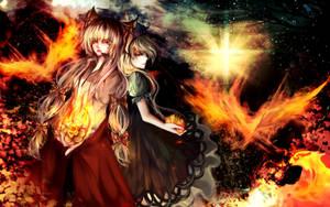 Burning Lotus by Byakurin