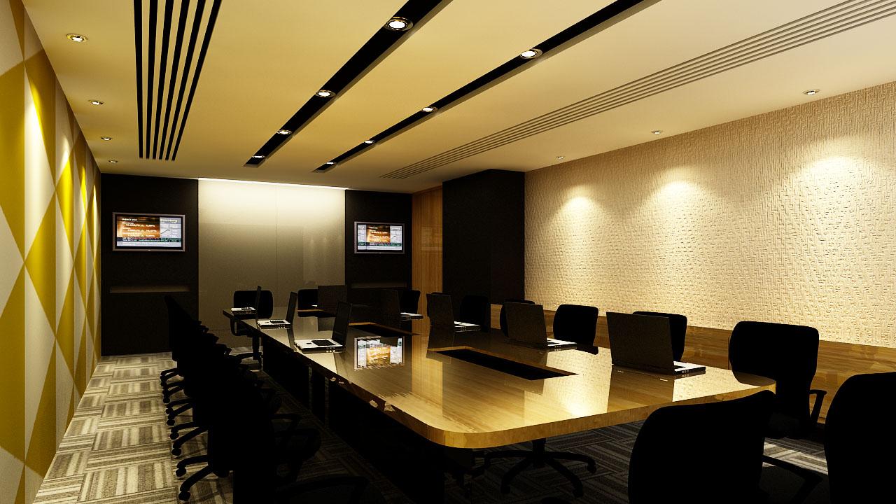 Video conference room by saimacko on deviantart for Office design video conferencing