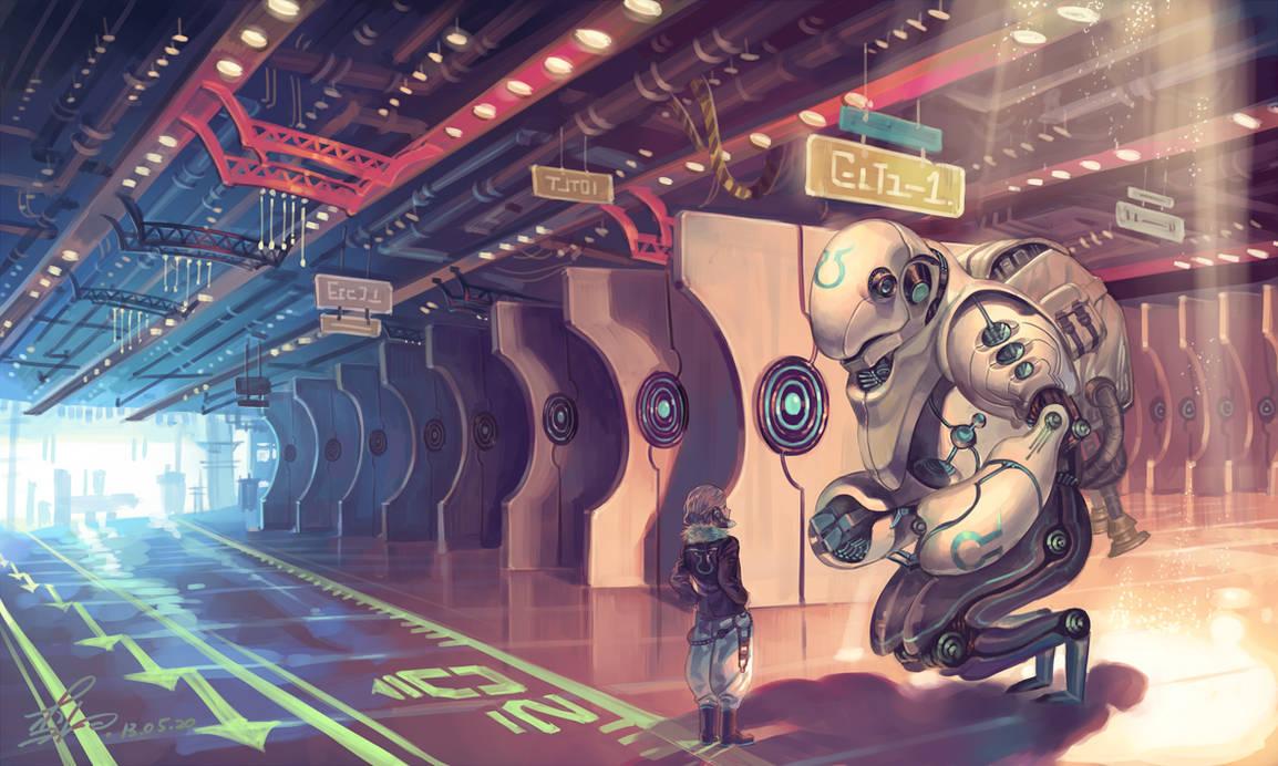 Robot by Lverin