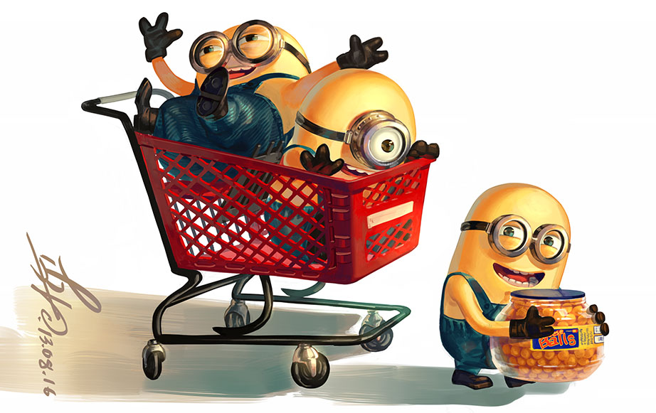 Minions by Lverin