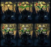 The Batmans entry- stepbystep by myszowor