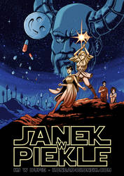 Janek w Piekle / John in Hell (a SW parody poster)