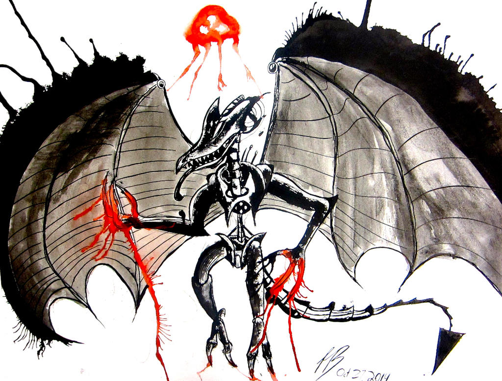 :Contest Entry: Meta Ridley by DracoPhobos