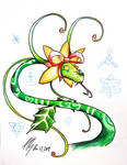 Holly Hybrid by DracoPhobos