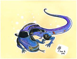 Lizardcar by DracoPhobos