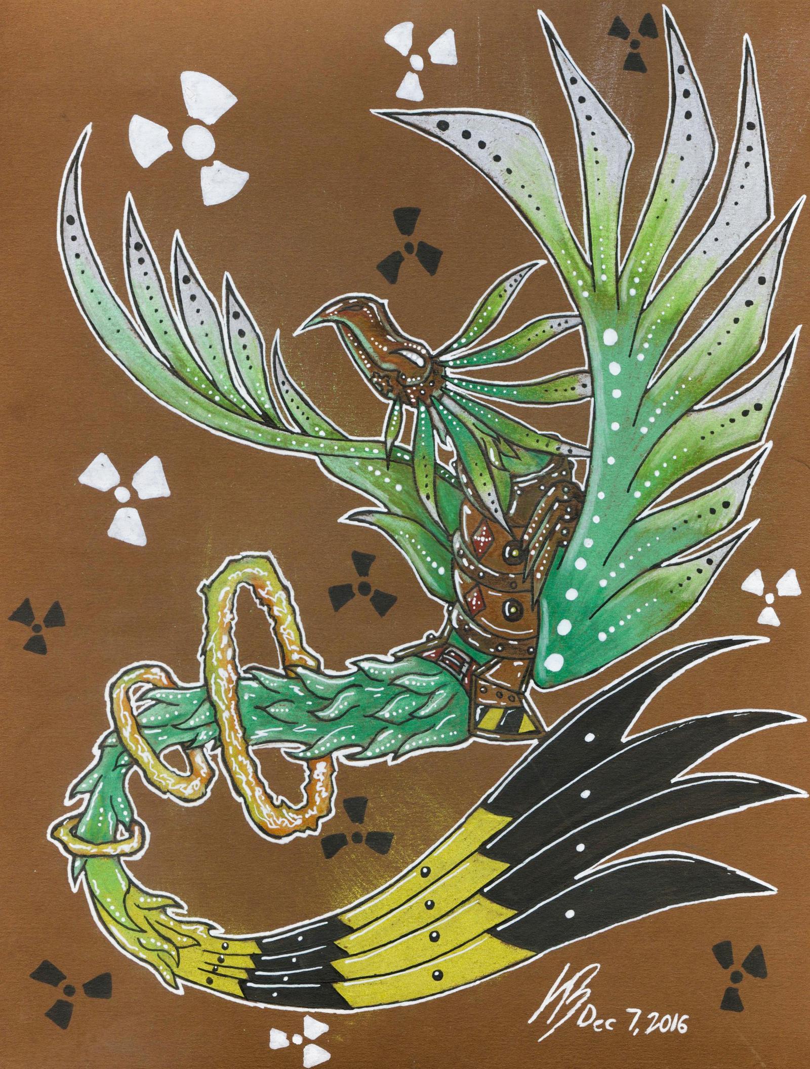 90- Atomic Phoenix by DracoPhobos