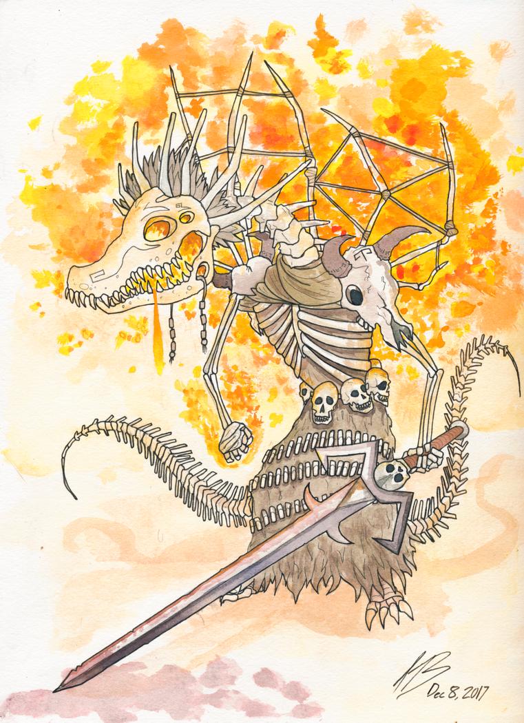 Anathema, Wildfire King by DracoPhobos