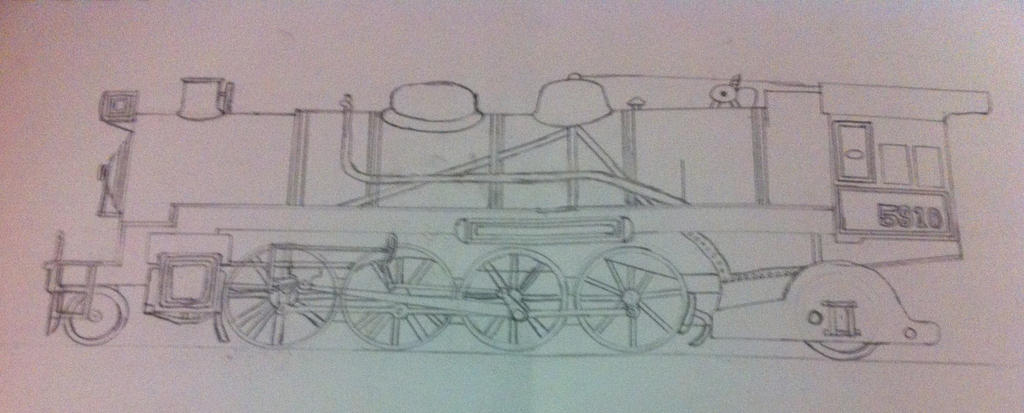 NSWGR D59 Class - Drawing by C36NSWGR on DeviantArt