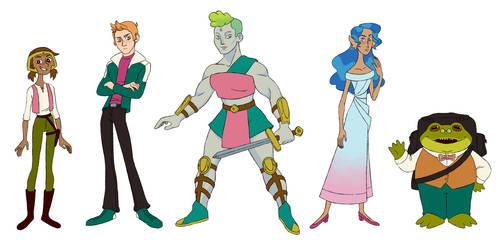 Ordaia Character Lineup