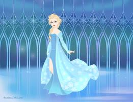 Elsa the Snow Queen (Frozen) by suburbantimewaster