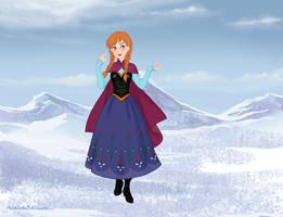 Anna (Frozen) by suburbantimewaster