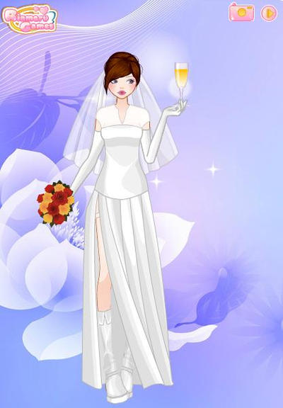:Art Trade: Jacqueline Wedding Dress by suburbantimewaster