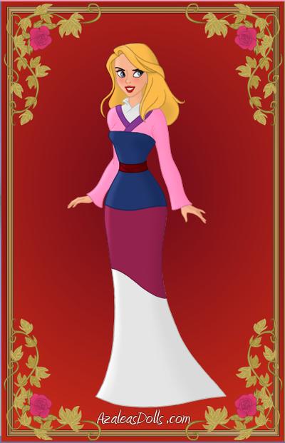 Rachel as Mulan (Animorphs) by suburbantimewaster
