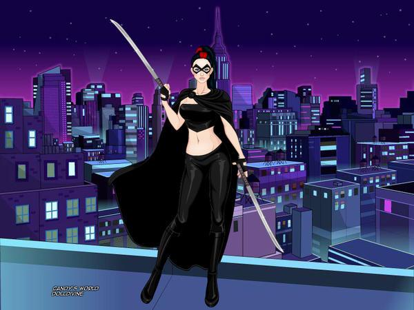 Roxanne/Shadow (Batman OC) by suburbantimewaster