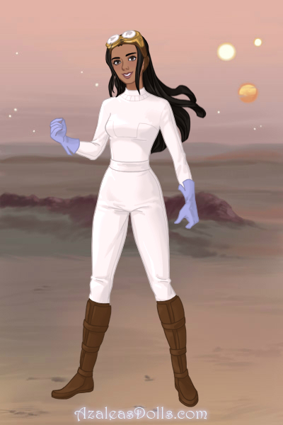 Cathy Patel (Star Trek: Deep Space Nine OC) by suburbantimewaster