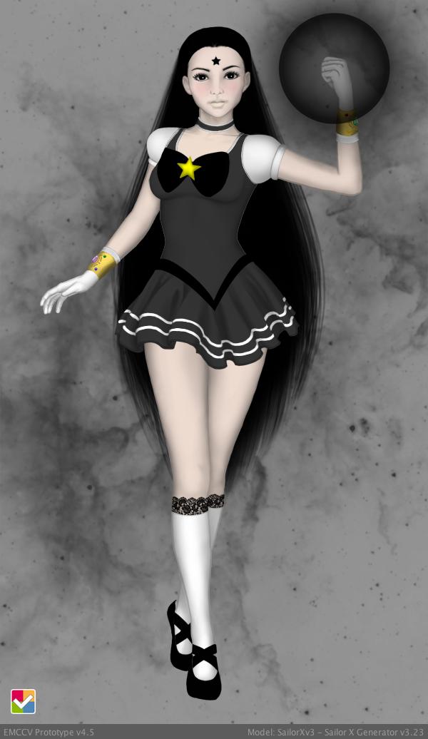 Maiden Kuro (Starlight Maidens FC) by suburbantimewaster