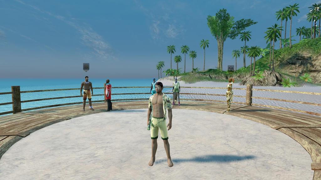 Siket's Beachwear (Star Trek Online) by suburbantimewaster