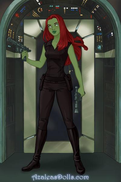 Melana (Star Trek OC) by suburbantimewaster