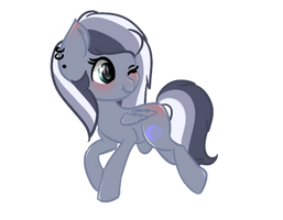 {Commision Smol Ponies} Storm Light by Megumi-ChanYT