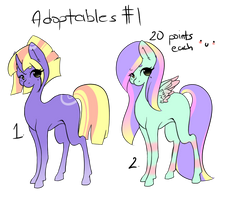 {OPEN}Adoptables #1 by Megumi-ChanYT