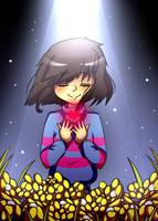 Undertale Frisk Redraw by Megumi-ChanYT