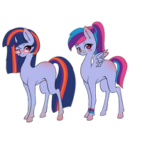 OPEN ADOPTS Twidash edition by Megumi-ChanYT
