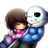 Cuddle Undertale by Megumi-ChanYT