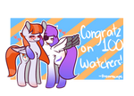 .:100 Watcher Giveaway Entry:.