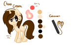 [Ponysona]Choco Cream Reference Sheet