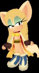 Rikku sonic ^^ by twinlightownz