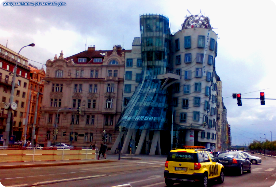 Dancing House. by SonicRainboomZ
