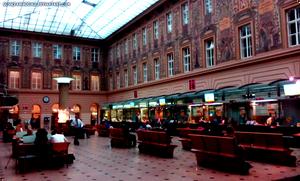 Prague Central Post Office.