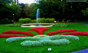 The Royal Garden of Prague.