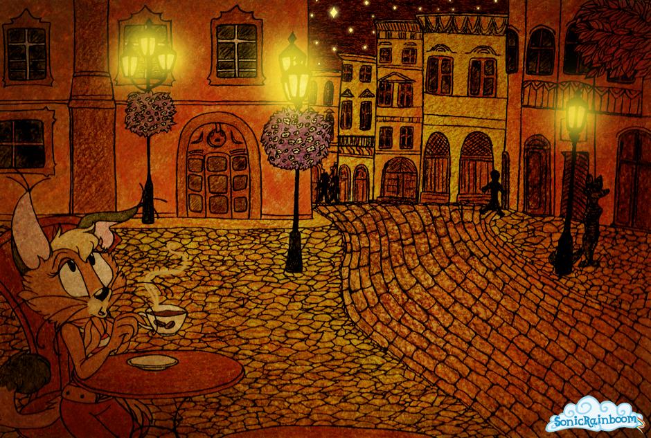 Epsilonian Evening. by SonicRainboomZ