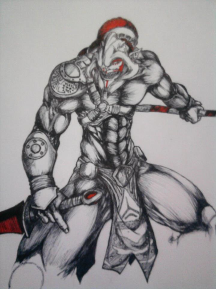 huskar dota2 fanart by aureile on deviantart
