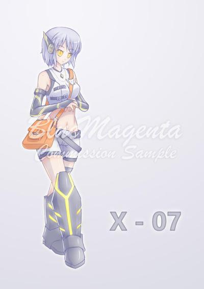 X - 07 by BlueMagenta